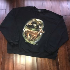 Deer and Bass Great Outdoors Sweatshirt